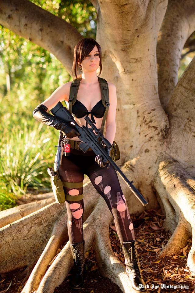 Quiet Cosplay by ZombieQueenAlly
