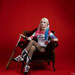 Harley Quinn Cosplay by AllyAuer