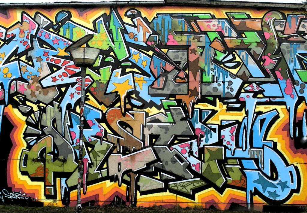 Graffiti by alfeign