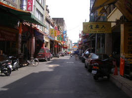 Street in Taipei by alfeign