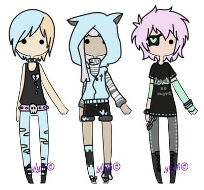 [Pastel Goth][closed] by Ylyth on DeviantArt