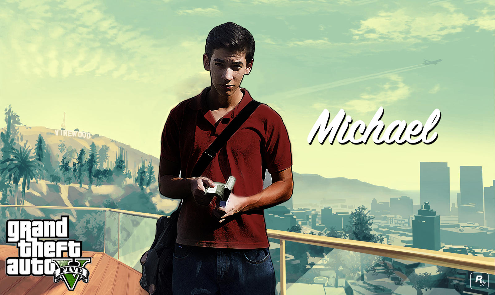 Michael GTA V By DnielDelgado