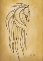 Horse of Rohan by SBarbossa