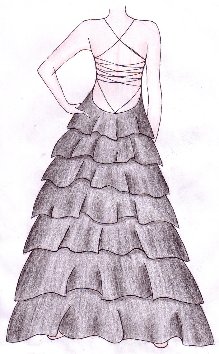Design Dress Layer Dress Design by ky sta