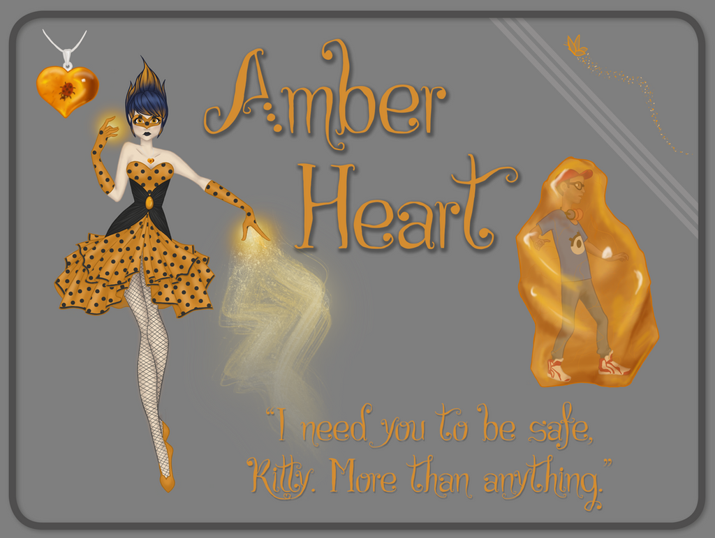 Amber Heart by ky-sta