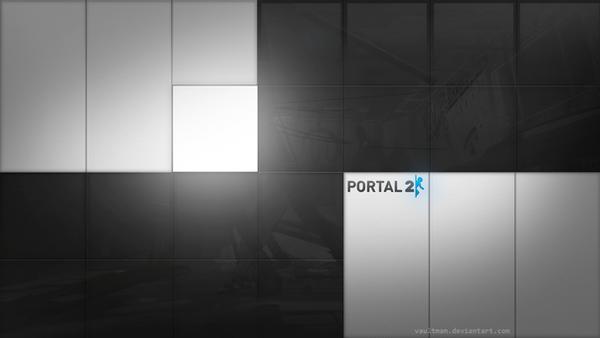 portal 2 wallpaper chell. portal 2 atlas wallpaper. onto