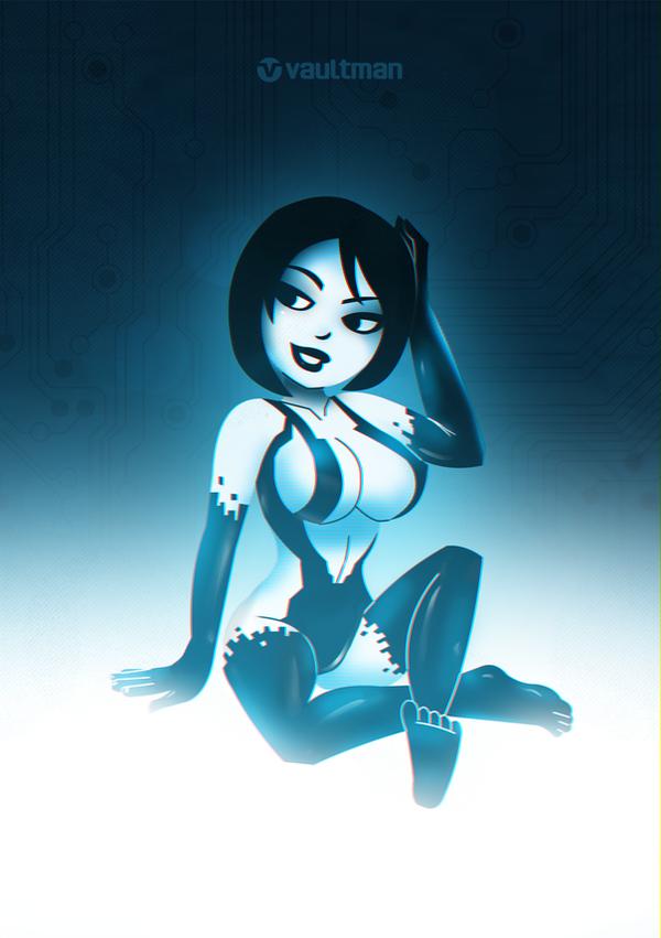 Cortana vaultstyle by vaultman on deviantart