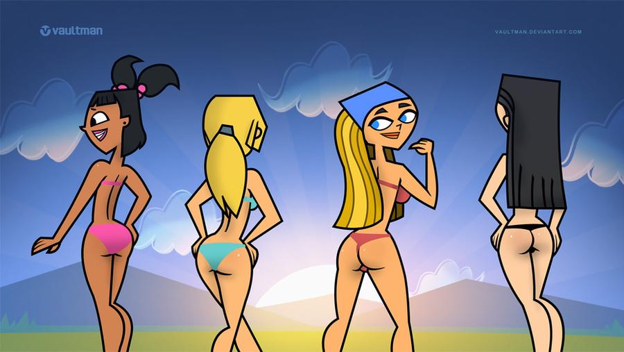 total drama island naked girls