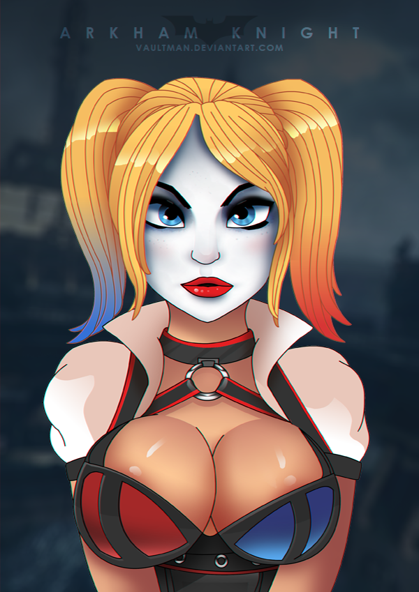 New Harley - Arkham Knight by VaultMan