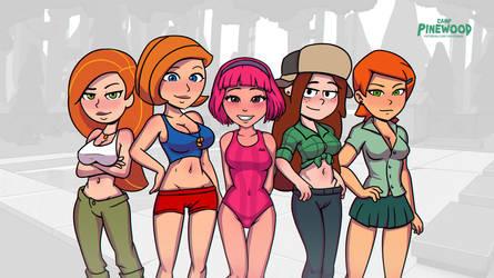 Newgirls by VaultMan