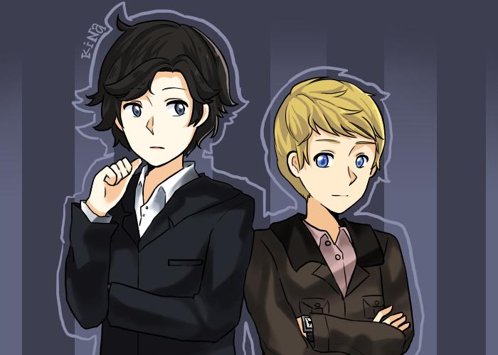 Sherlock by MangaSock