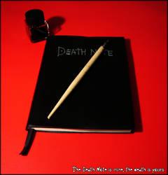 The Death Note is mine by DarkStORMWORLd