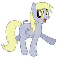 Derpy Hooves by empty-10