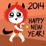 Ruby Gloom Chinese New Year 2014