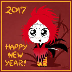 Ruby Gloom Chinese New Year 2017
