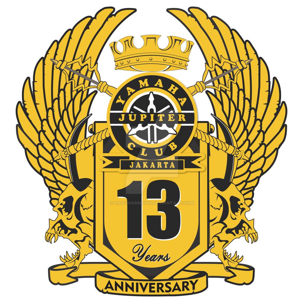 Logo 13th Anniversary Yamaha Jupiter Club Jakarta by ...