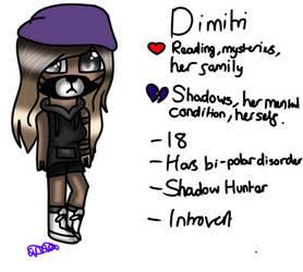 Dimitri (Monsters OC) by MinecraftLovesMedi