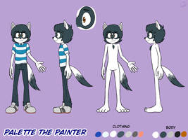 Palette the Painter Ref 2018 by SpaceDemonFez