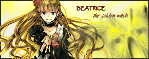 Beatrice, The Golden Witch by April-Roses