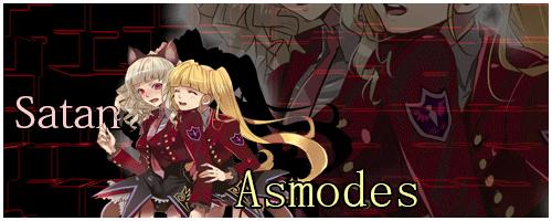 Satan and Asmodes by April-Roses