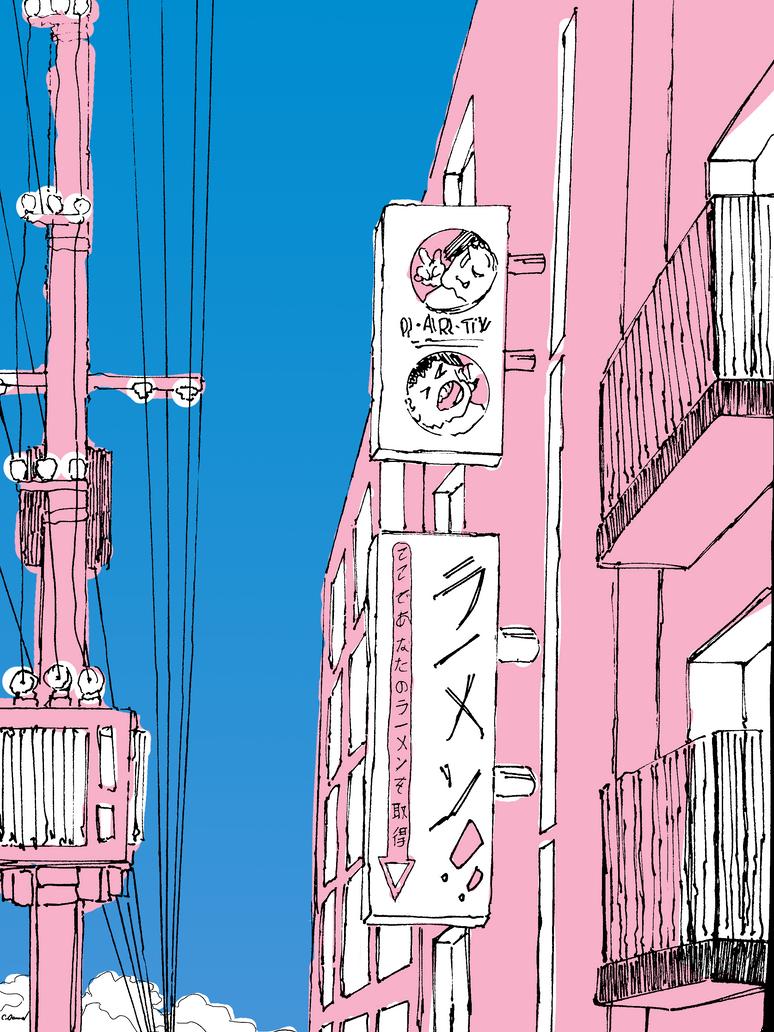 ramen district by oakwardly