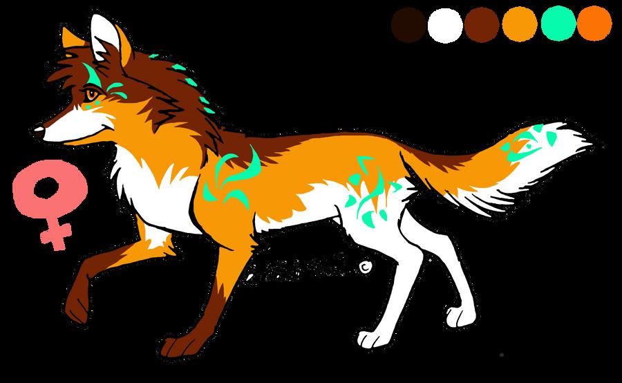 Summer season wolf adoptable - CLOSED by StanHoneyThief