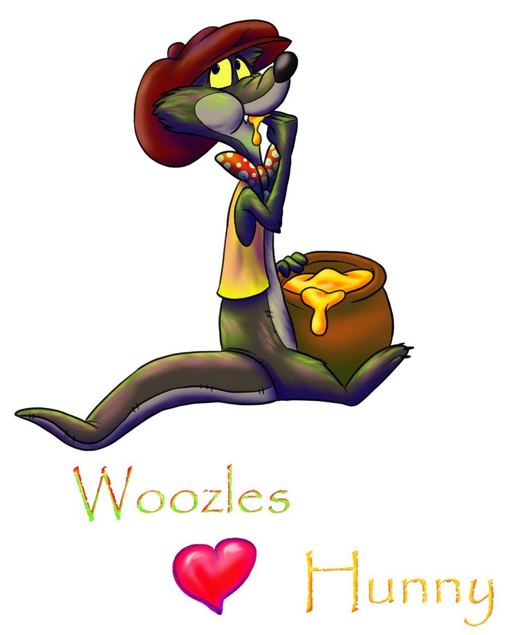 Woozles Love Hunny by StanHoneyThief