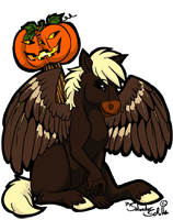 Halloween Icon commission for Pete by StanHoneyThief