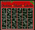 Adoptable Miniwolf Christmas calendar - CLOSED by StanHoneyThief