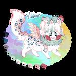 Vivien the sushi cat refsheet