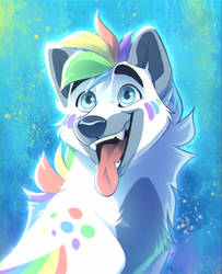 Icon of Rain - by Nightrizer