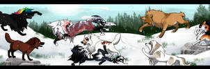 Snowball Fight - freestyle prompt