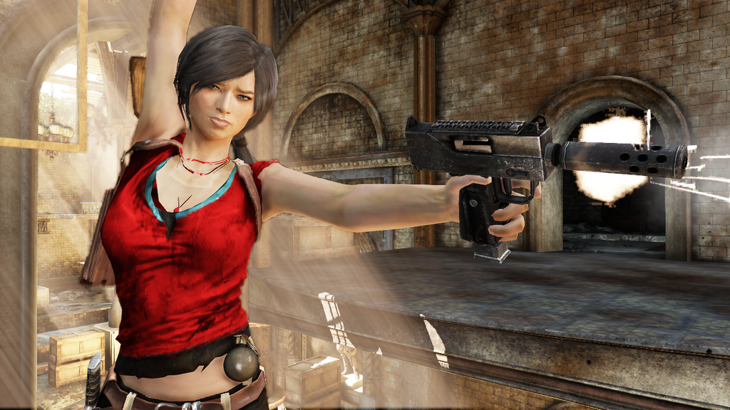 Uncharted 3 Chloe Hot Chloe Frazer by Angel-...