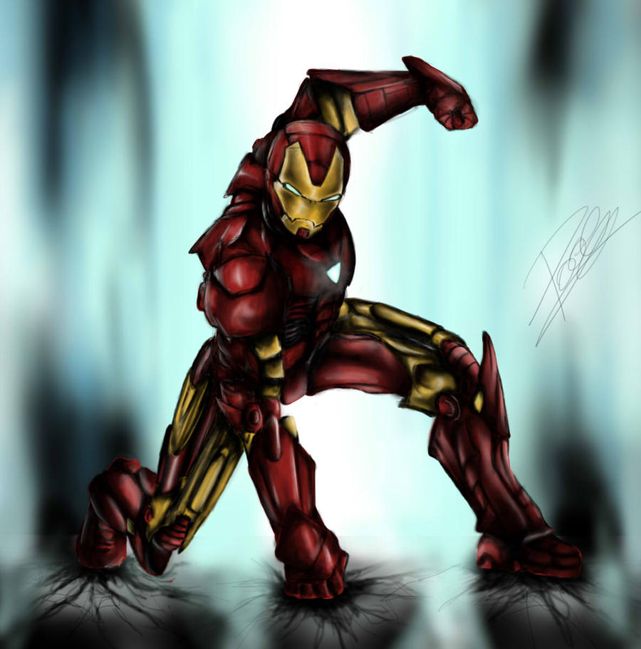 iron man by StayCirro