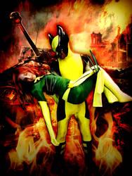 Wolverine and Phoenix Cosplay