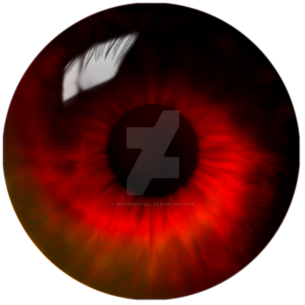 Red Swirl Eye - Finished by TheSilentFall on DeviantArt