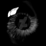 Black Swirl Eye - Enhanced
