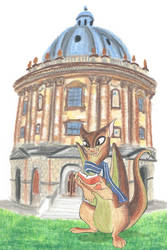 Trinity Dragon in Oxford by LiHy