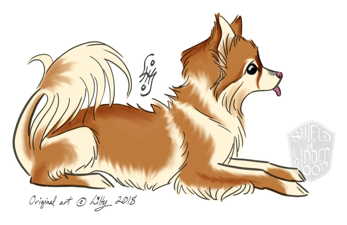 Design Proposal for Pomeranian Sculpture by LiHy