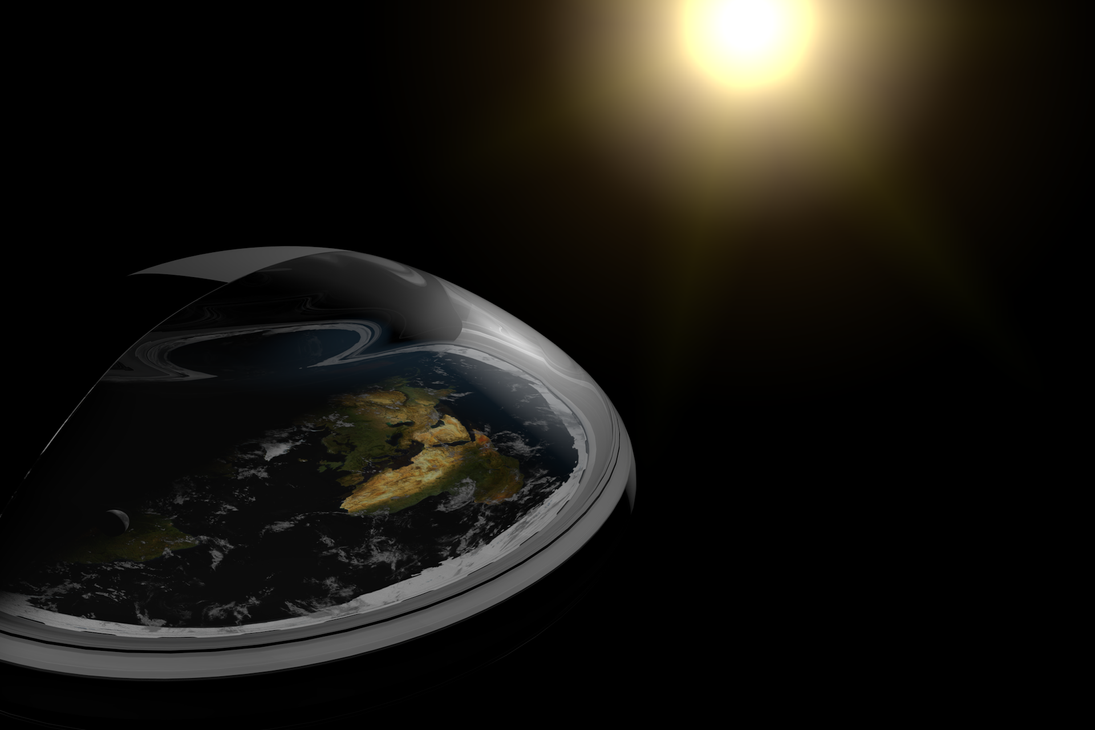 Flat Earth by Puschelpink