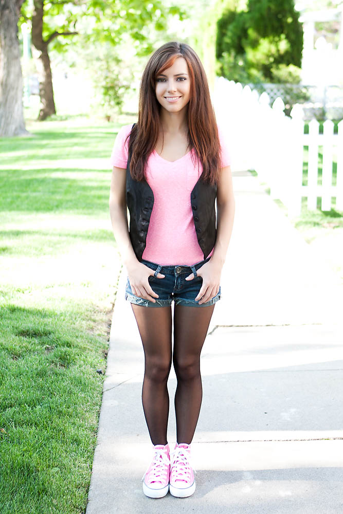 Tasha in Pink Shoes. by RaymondPrax