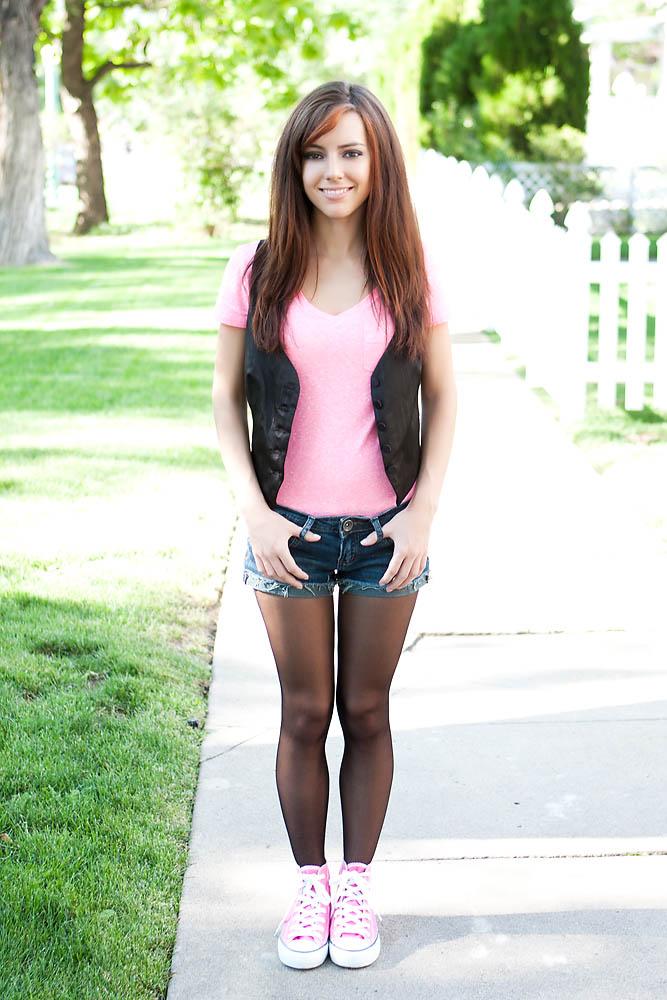Tasha in Pink Shoes. by RaymondPrax