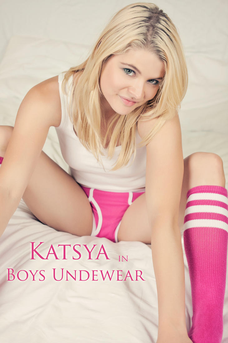 Katsya in Boys Underwear Full Set by RaymondPrax