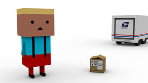 Cubeboy by Lowlandet