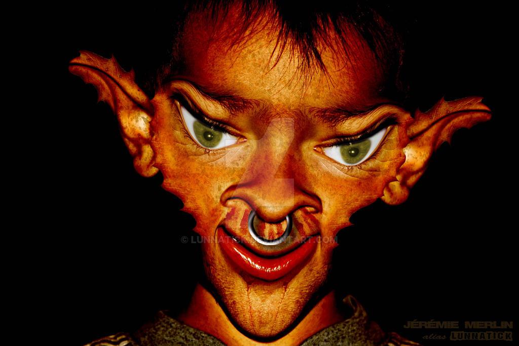 Enfant Elfe mtg 1 2a by lunnatick