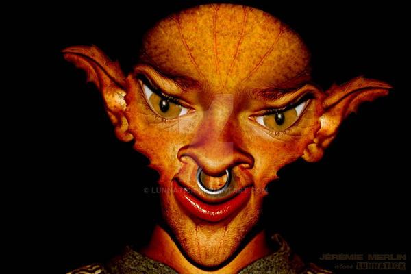 Enfant Elfe mtg 1 2b by lunnatick