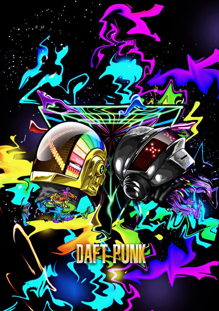 daft punk by EDWYMVAGOVIESO