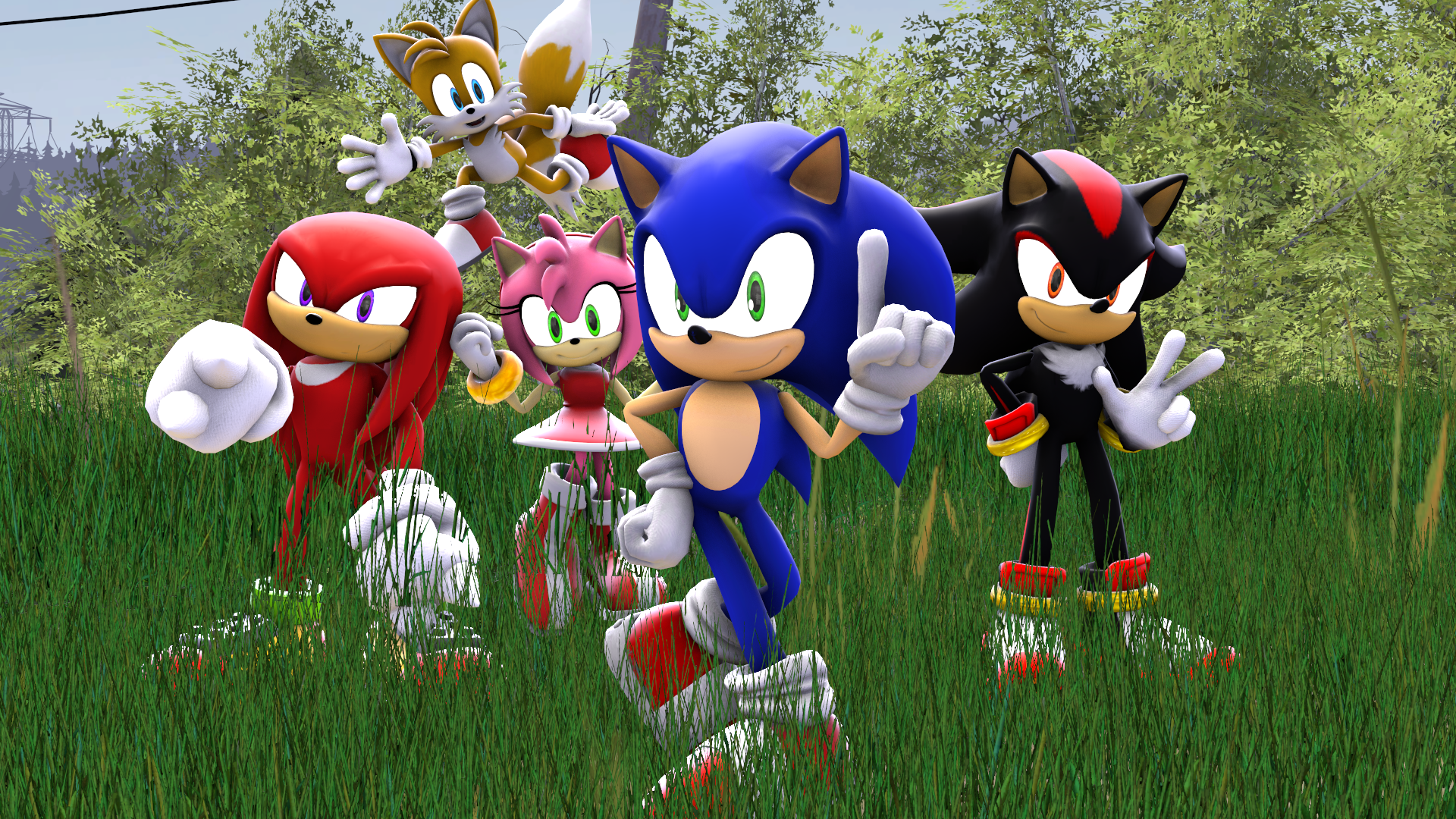 Sonic the hedgehog 2 wallpaper