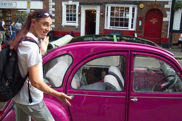 Josh finds a car as gay as him by dahm