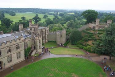 Warwick Castle by dahm